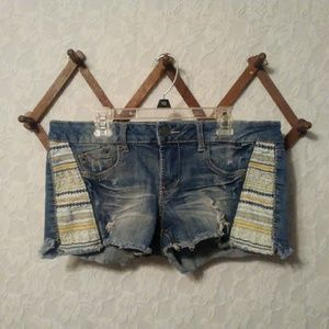 Mossimo Cut Off Distressed Jean Shorts